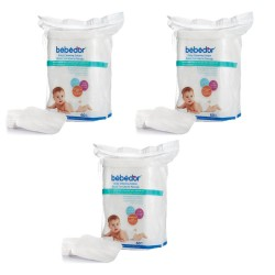 Bebedor Bebek Temizleme Pamuğu 60 Lı 3 Adet