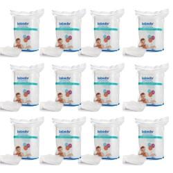 Bebedor Bebek Temizleme Pamuğu 60 Lı 12 Adet