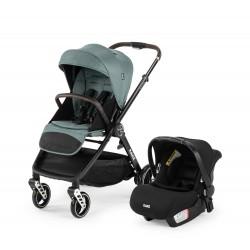Kanz X-Go Plus Silver Travel Sistem Bebek Arabası Yeşil