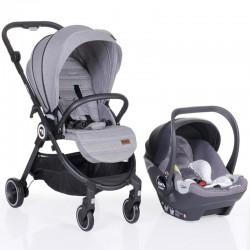 Kraft Onyx Travel Sistem Bebek Arabası Light Grey