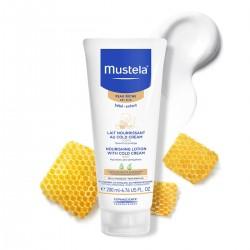 Mustela Cold Cream İçeren Besleyici Vücut Losyonu Kuru Cilt 200 Ml