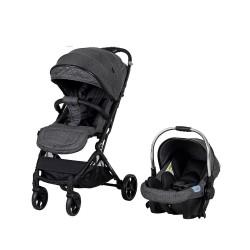 Prego 2032 Solo Travel Sistem Bebek Arabası Gri