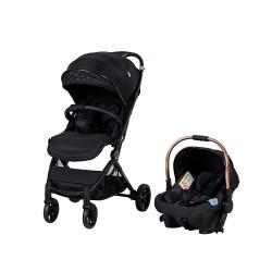 Prego 2032 Solo Travel Sistem Bebek Arabası Siyah