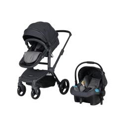 Prego 2087 Quattro Pro Travel Sistem Bebek Arabası Gri