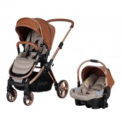 Prego 2089 Cayenne Premium Travel Sistem Bebek Arabası Taba