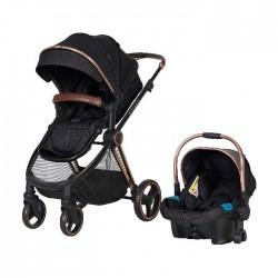 Prego 2098 Macan Travel Sistem Bebek Arabası Siyah