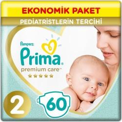 Prima Premium Care No:2 Mini Ekonomik Paket Bebek Bezi 60 Lı 4-8 Kg