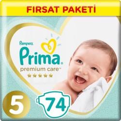 Prima Premium Care No:5 Junior Süper Fırsat Paketi 11-16 Kg 74 Lü