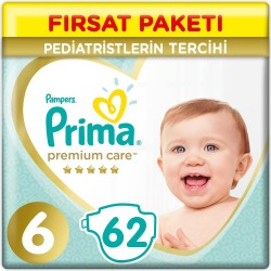 Prima Premium Care No:6 Large Süper Fırsat Paketi 13Kg+ 62 Li