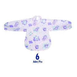 Sevi Bebe 262 Kullan At Kollu Mama Önlüğü (6 Adet)