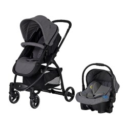 Sunny Baby 9021 Ryan Travel Sistem Bebek Arabası Gri