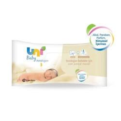 Uni Baby Yenidoğan Islak Pamuk Mendil 40 Yaprak